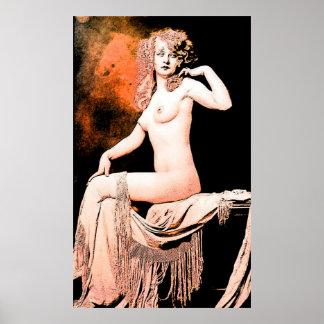 Chica de Ziegfeld Posters