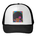 Chica del Afro Gorros