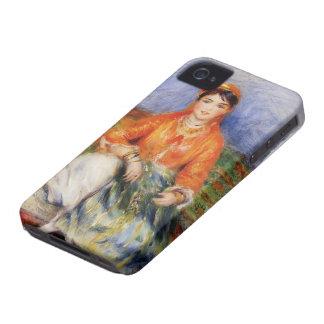 Chica del algerino de Pedro-Auguste Renoir- Carcasa Para iPhone 4 De Case-Mate