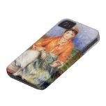 Chica del algerino de Pedro-Auguste Renoir- iPhone 4 Case-Mate Funda