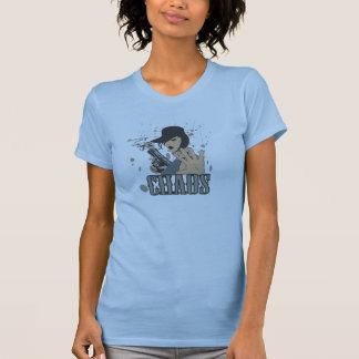 chica del arma camisetas