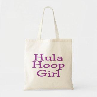 Chica del aro de Hula Bolsas De Mano