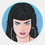 Chica del arte pop - Alicia Pegatina Redonda