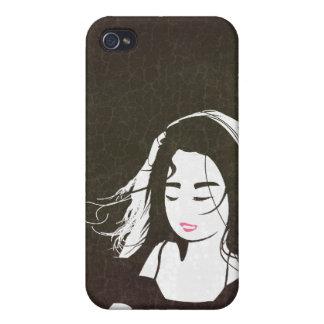 Chica del artista iPhone 4/4S carcasas