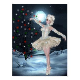 Chica del bailarín de la bailarina:: Postal del na