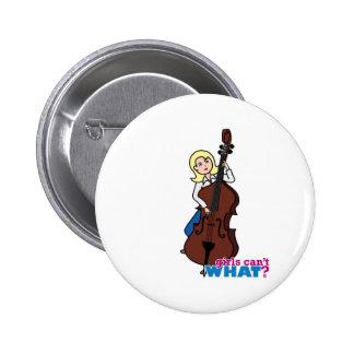 Chica del bajista de secuencia - luz/Blonde Pin