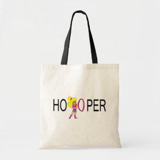 Chica del Blonde de Hooper Bolsa Lienzo