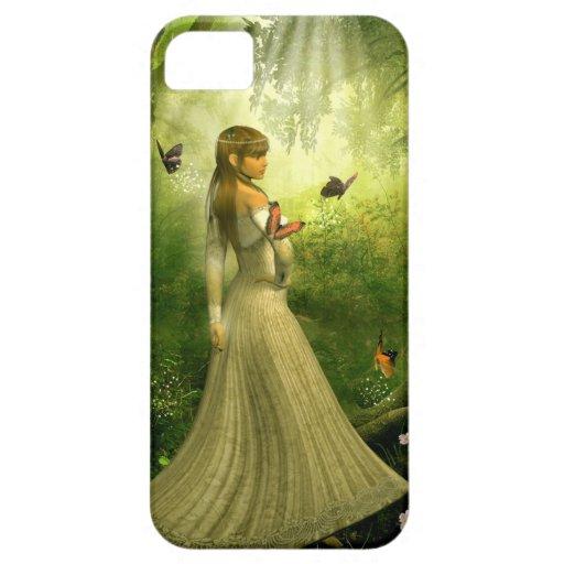Chica del bosque funda para iPhone SE/5/5s