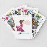 Chica del chicle baraja de cartas