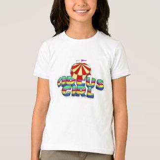 Chica del circo de la CAMISETA