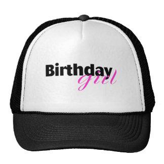 Chica del cumpleaños (2) gorra