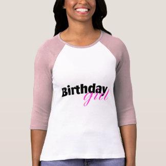 Chica del cumpleaños (2) playera