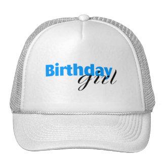 Chica del cumpleaños (3) gorras