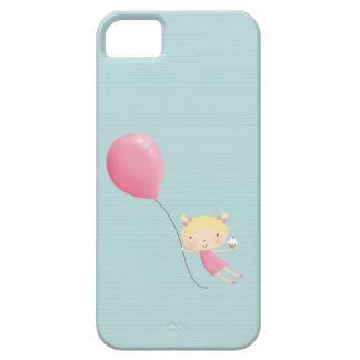 Chica del cumpleaños en cubierta del teléfono iPhone 5 carcasa