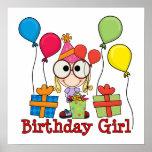 Chica del cumpleaños poster