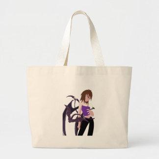 Chica del demonio bolsas