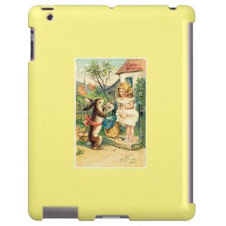 Chica del día de fiesta y caso del iPad de Pascua Funda Para iPad