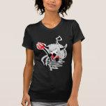 Chica del diablo camisetas