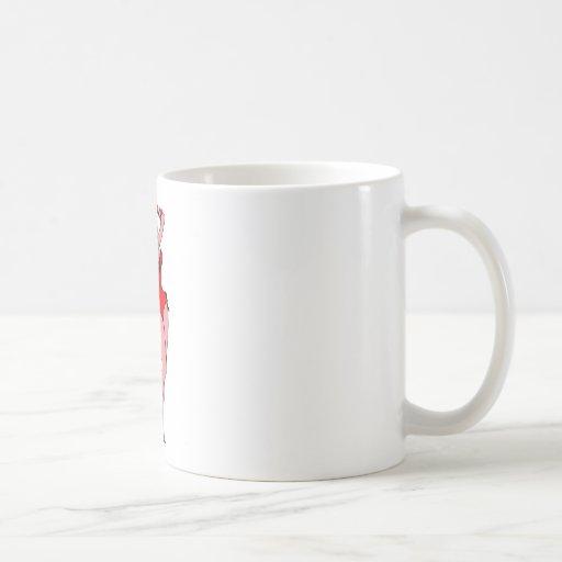 Chica del diablo taza básica blanca