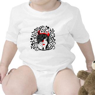 chica del diablo trajes de bebé