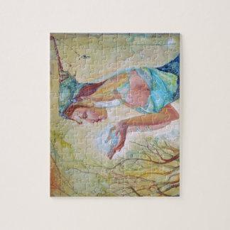 Chica del duende puzzles con fotos