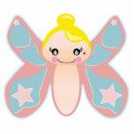 chica del duendecillo de la mariposa esculturas fotograficas