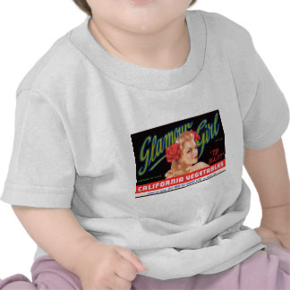 Chica del encanto camisetas