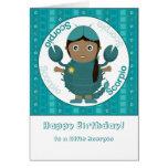 Chica del escorpión - feliz cumpleaños felicitacion