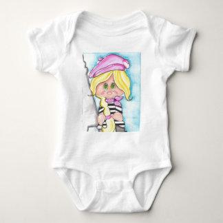 Chica del francés de Lil Body Para Bebé
