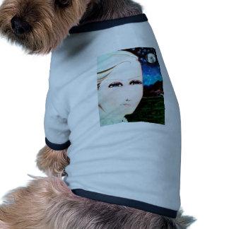 Chica del Fraulein Camiseta Con Mangas Para Perro