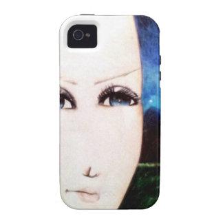 Chica del Fraulein Carcasa Case-Mate Para iPhone 4