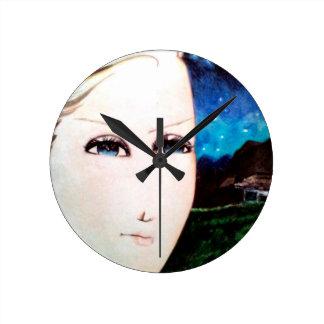 Chica del Fraulein Reloj Redondo Mediano