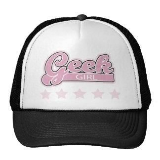 Chica del friki gorras