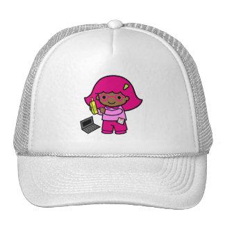 chica del friki gorra