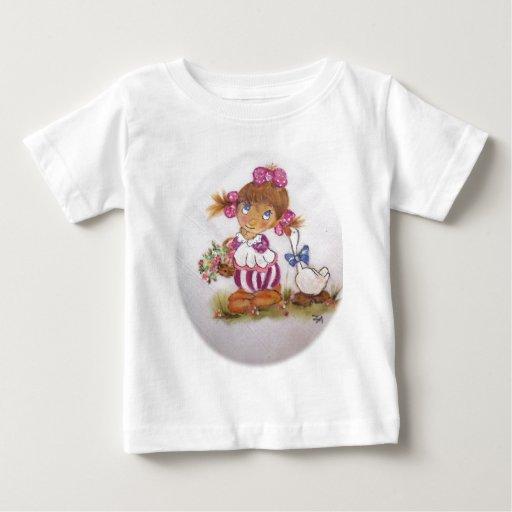 Chica del ganso tshirts