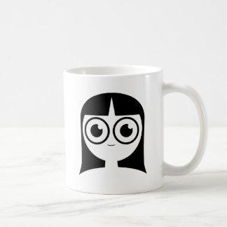 Chica del gótico taza clásica