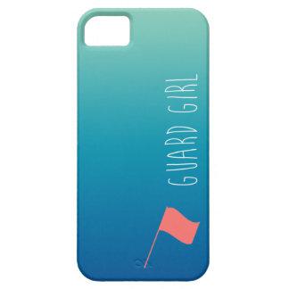 """""""Chica del guardia"""" con la bandera Colorguard iPhone 5 Case-Mate Carcasas"""