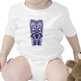 chica del guerrero del tótem del tiki tribal trajes de bebé