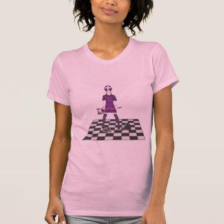 Chica del hacha camisetas