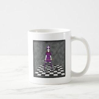 Chica del hacha taza clásica