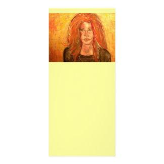 chica del hippie de la hermana del alma tarjeta publicitaria
