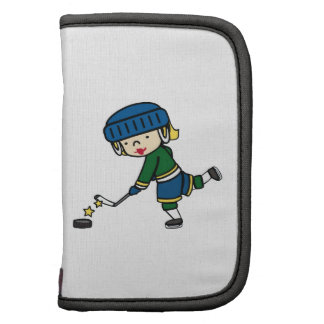 Chica del hockey planificador