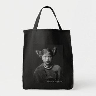 Chica del Hopi Bolsas Lienzo