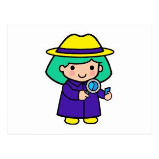 Chica del investigador postal