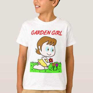 Chica del jardín polera