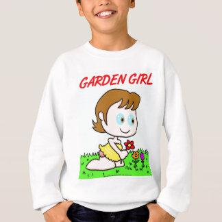 Chica del jardín sudadera