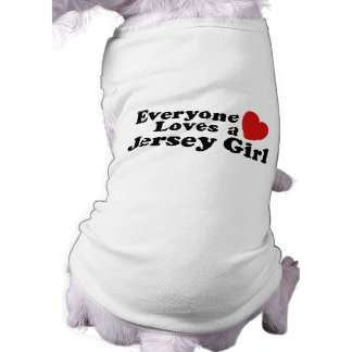 Chica del jersey camisas de mascota