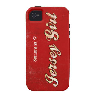Chica del jersey Case-Mate iPhone 4 fundas