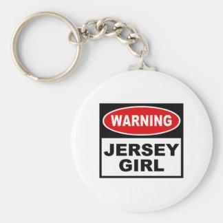 Chica del jersey llaveros personalizados