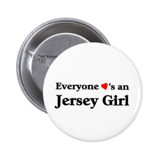 Chica del jersey pins
